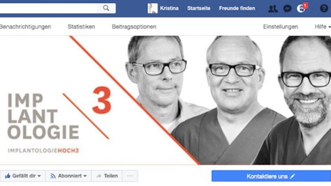 Facebook Implantologiehoch3